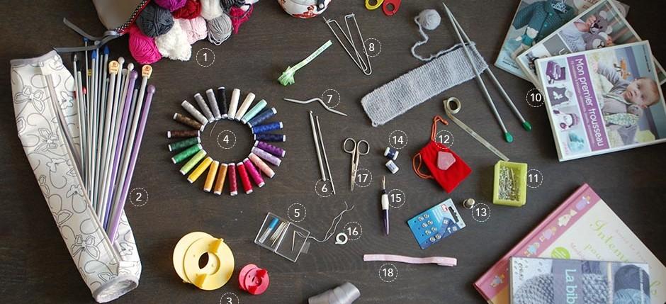 Materiel tricot